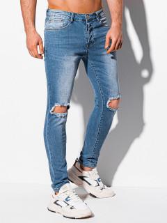 Vīriešu džinsi (zila krāsa) Mike