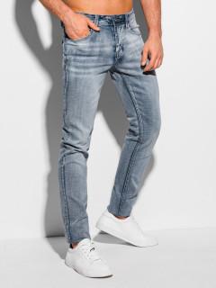 Men's jeans P1084 - light blue