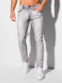 Men's jeans P1085 - grey