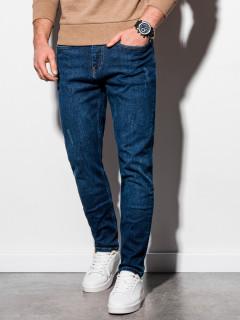Vīriešu džinsi (tumši zila krāsa) Orien
