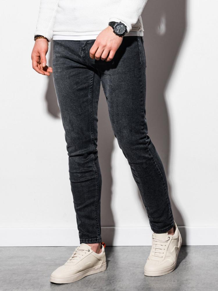 Vīriešu džinsi (melns) Ashton