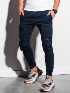 Vīriešu bikses (tumši zils) Edan