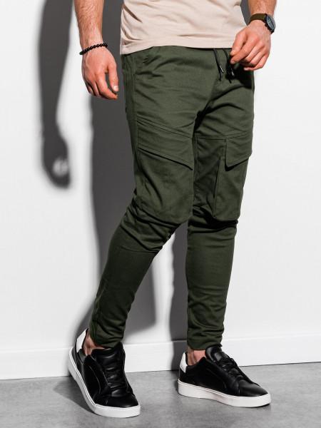 Vīriešu bikses (haki krāsa) Arthur