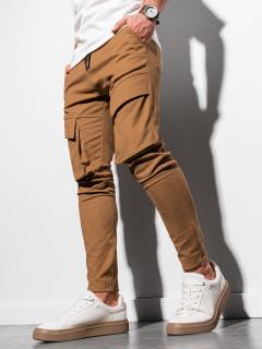 Vīriešu bikses (brūns) Jaden