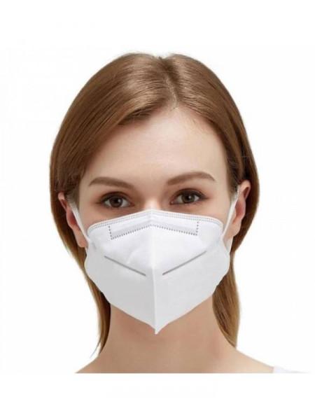 FFP2 veido kaukė, respiratorius (1000 vnt.)