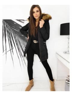 Moteriška žieminė jaka (Melns) Galina